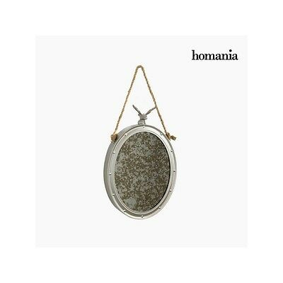 S0103462 Metal mirror with rope by Homania