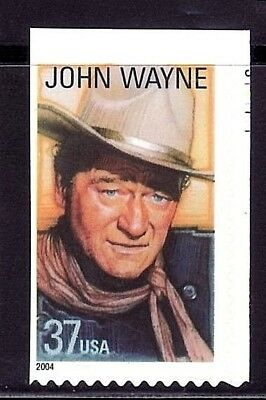 SELLOS TEMA CINE USA 2004  1v. ADHESIVO JOHN WAYNE  HOLLYWOOD