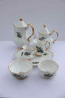 Lubern Tea and Coffee service 22 KT Gold