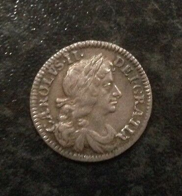 Charles II 1683 Maundy Silver Fourpence