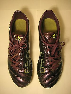 F10 adidas soft ground Football boots size 11