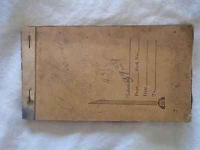 1941 Receipt Book 50 Invoices Ford Brouse's Service Station Iroquois Ont