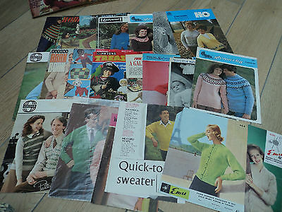 Selection Of Old Knitting Patterns