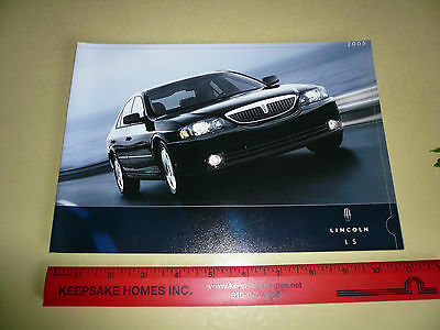 2005 Lincoln LS Sales Brochure/Flyer