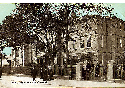 GLAMORGAN - Early Postcard of University College, CARDIFF -  Ref ETWD