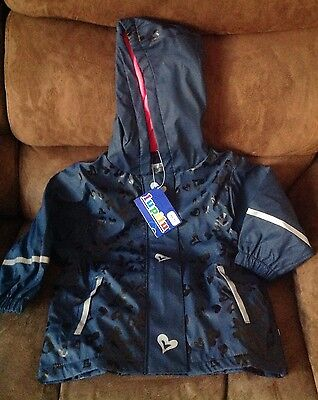Kids Waterproof Jacket New In Packaging Age 12/24 Months