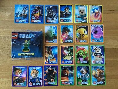 Lego Dimensions 71342 Green Arrow Figure & Complete Collector Card Set -20 Cards