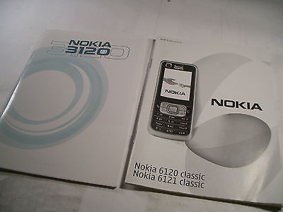 Nokia 3120 and Nokia 6120 Classic / 6121 Classic User Manual Guides
