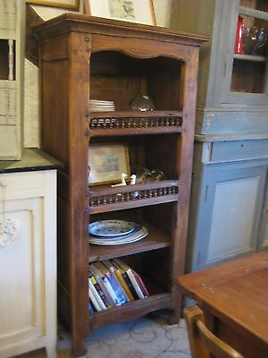 Vintage French Mahogany Bookcase / Display Cabinet