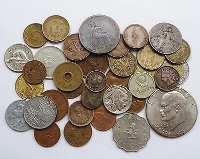 World Coins Lot Of 37