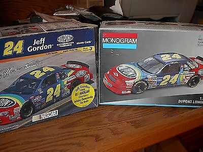 2 different #24 Jeff Gordon 1993 and 1997 Dupont   open items