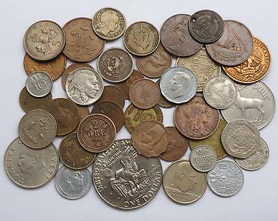 World Coins Lot Of 41