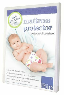 Bambino Mio Fitted Mattress Protector Cot baby bedding bed bedsheet waterproof