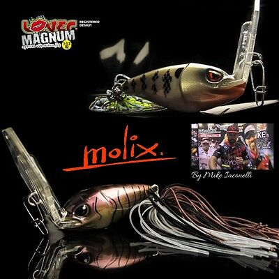 MOLIX SPECIAL VIBRATION JIG BY MIKE IACONELLI LOVER MAGNUM 1.1/2oz