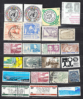 Mexico Large Mint Used Selection-3 Scans