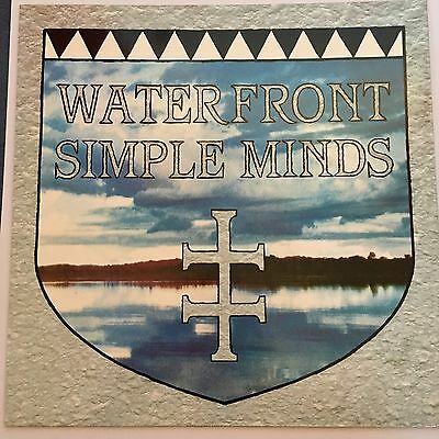 "Simple Minds Waterfront 12"" 1983 Virgin"