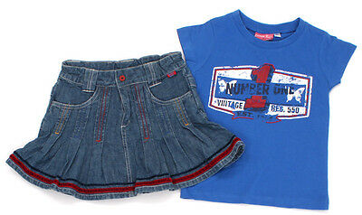 DUCKY BEAU Jeans-Rock und EUROPE KIDS T-Shirt - 104