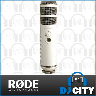 RODE Podcaster USB Broadcast Quality Studio Microphone - Australian Made