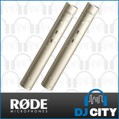 RODE NT55 Matched Pair Condenser Microphone Pencil Mics Cardioid & Omni Capsules