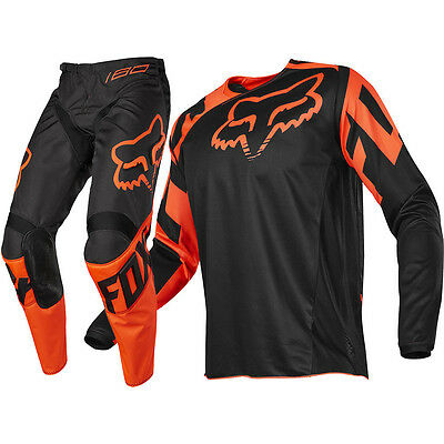 FOX 180 Race Jersey & Pant Combo Orange Size Mens L / 34