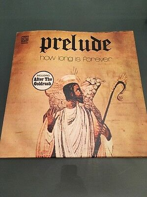 Prelude - How Long Is Forever Gatefold 1973 Textured 1st Press Dawn Records