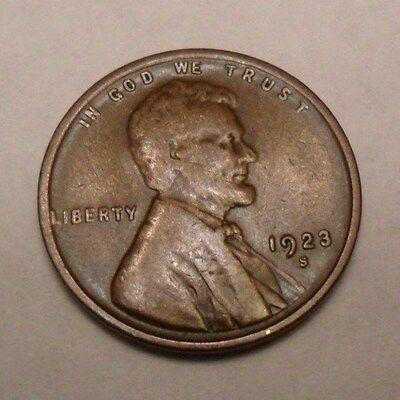 1923 S Lincoln Wheat Cent / Penny  *AG OR BETTER*   **FREE SHIPPING**