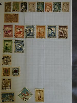 Portugese India collection of older stamps - 24 stamps