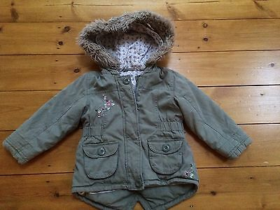 Girls Padded Winter Coat Aged 2-3 Years ��Great Condition��