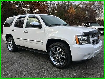 "2014 Chevrolet Tahoe LTZ 2014 Chevrolet Tahoe 4wd LTZ Navi, DVD, Sunroof, 22"" Chrome Wheels 62k MSRP"