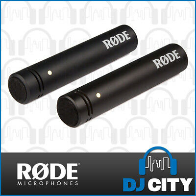 """Rode M5 Compact 1/2"""" Stereo Condenser Microphone Matched Pair Pencil Mic"""