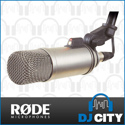 RODE Broadcaster Condenser Microphone for On-Air Brodcasts and Vocal Voiceovers