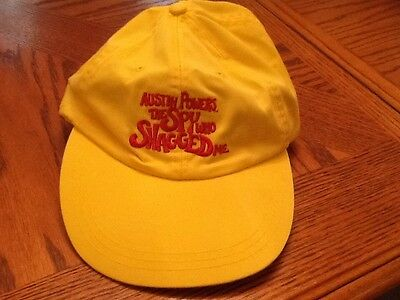 Austin Powers The Spy Who Shagged Me Embroderied Yellow Baseball Cap