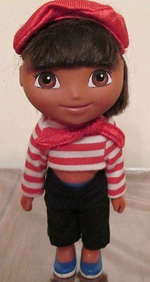 Dora the explorer Doll in French inspired outfit