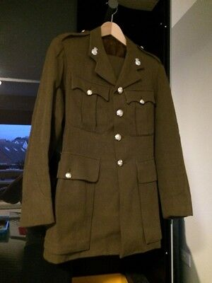 BRITISH ARMY OFFICERS (No 2) SERVICE DRESS - YORKSHIRE VOLUNTEERS