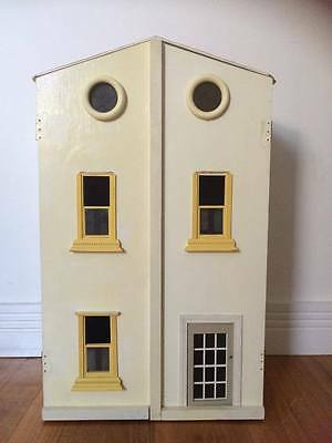 New Wooden Doll House with Furniture