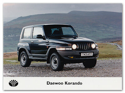 Daewoo Korando Press Release Photograph