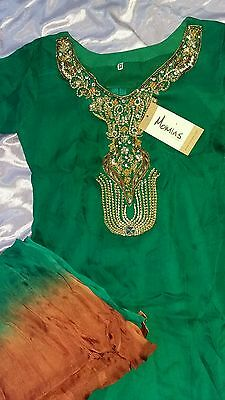 ☆☆Turquoise Green Indian/Pakistani Salwar Kameez!☆☆ AmaZing PriCe!  WoW!! !
