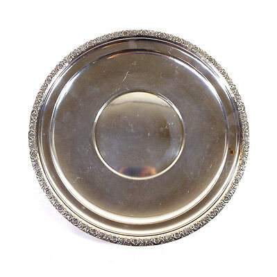"""Antique Prelude International Sterling Silver Charger Plate H229 10.5"""""""