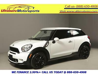 "2013 Mini Cooper S S Hatchback 2-Door 2013 MINI PACEMAN COOPER S LEATHER SPORT MODE 17""ALLOYS WHITE WARRANTY"