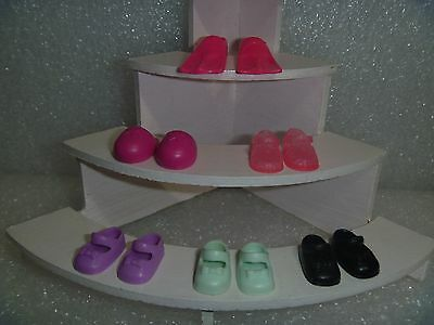 Barbie Shoes - Actually a Six Pack Of Footwear For Kelly or SSF~*~Cute Variety