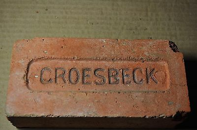 "Antique Brick  ""groesbeck""  From Texas"