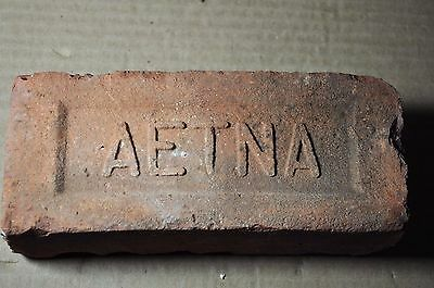 """Antique Brick  """"aetna""""  From Connecticut"""