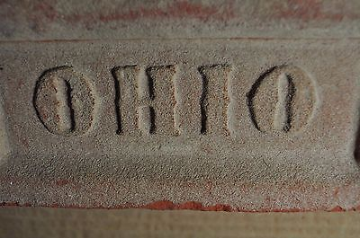 "Antique Brick ""ohio"" The Buckeye State, Fancy Letters"