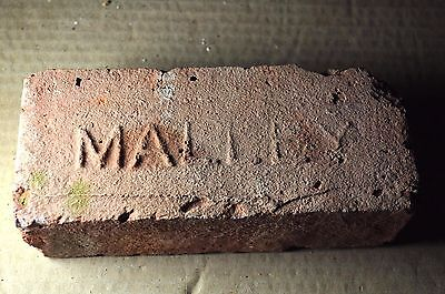"Antique Early Primative Brick  ""malley""  From New York"