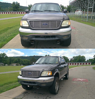 2002 Ford F-150 Lariat 2002 Ford F-150 Lariat 4x4 Lifted on 22s Loaded Tow Package CHECK HISTORY REPORT