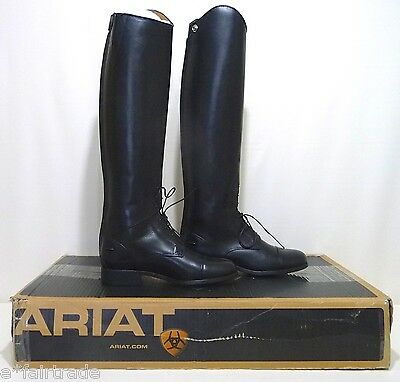 Womens Ariat Heritage Select Field Zip 6.5M English Riding Boots, SLIM CALF, NEW