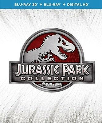 Jurassic Park 1-4 Collection - 6 DISC SET (2015, Blu-ray NUOVO) (REGIONE A)