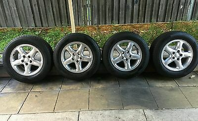 Toyota hilux rav4 alloy wheels and tyres 16inch 4x2 set of 4