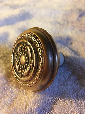 No.7 Victorian antique doorknob solid brass