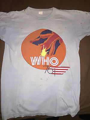 The Who vintage 1976 Tour T-shirt